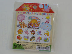 Cute Kawaii Kamio Animal Mansion Stickers Sack - Vintage