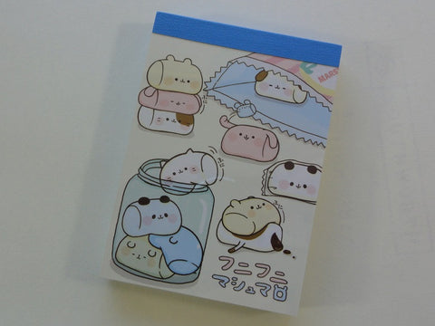 Kawaii Cute Kamio Marshmallow Mini Notepad / Memo Pad