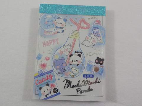 Kawaii Cute Kamio Mochi Panda Mini Notepad / Memo Pad - O - Stationery Designer Writing Paper Collection