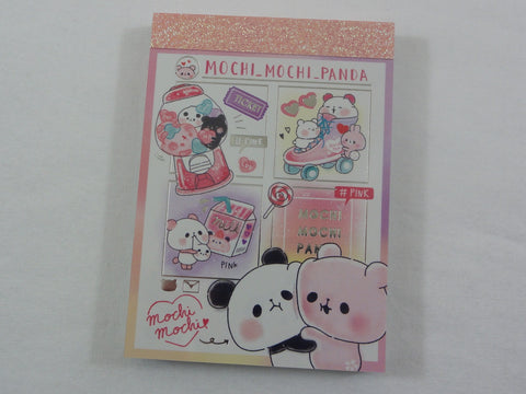 Kawaii Cute Kamio Mochi Panda Mini Notepad / Memo Pad - P - Stationery Designer Writing Paper Collection