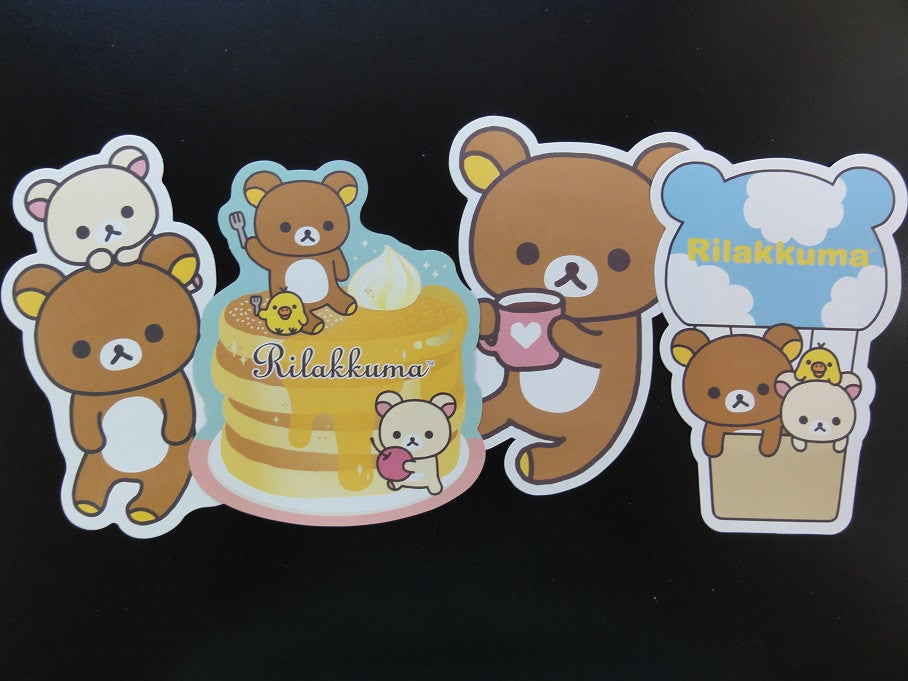 Cute Kawaii San-X Rilakkuma Bear Die Cut Envelopes