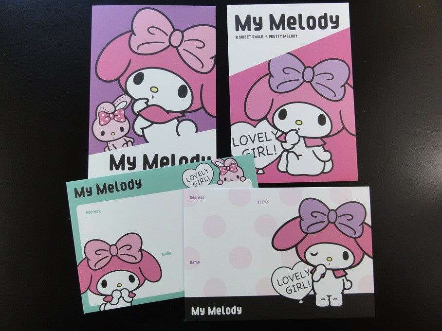 Cute Kawaii Sanrio My Melody Envelopes