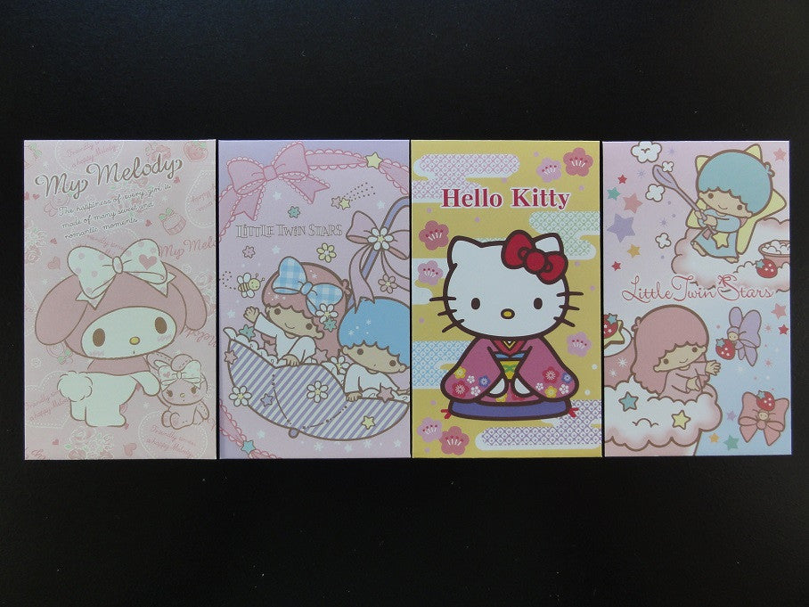 Hello Kitty Little Twin Stars My Melody Small Envelopes
