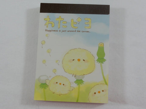 Cute Kawaii Crux Baby Bird Clover Mini Notepad / Memo Pad