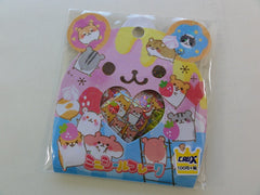 Cute Kawaii Crux Hamster Stickers Flake Sack
