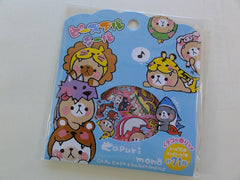 Cute Kawaii Mind Wave Capuri Mono Costume Bear Flake Stickers Sack - A