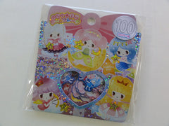 Cute Kawaii Kamio Princess Girl Flake Stickers Sack