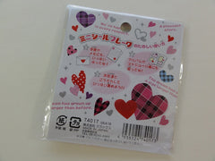 Cute Kawaii Heart Flake Stickers Sack - Vintage