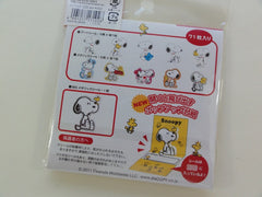 Cute Kawaii Kamio Peanuts Snoopy Stickers Sack - A