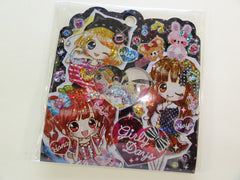 Cute Kawaii Q-Lia Girly Days Flake Stickers Sack - Vintage