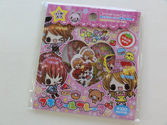 Cute Kawaii Kamio Pretty Honey Girl Best Friends Flake Stickers Sack - Vintage