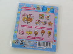 Cute Kawaii Caramel Ribbon Girl Best Friends Flake Stickers Sack - Vintage
