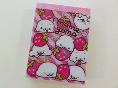 Kawaii Cute San-X Mamegoma Seal Mini Notepad / Memo Pad - D