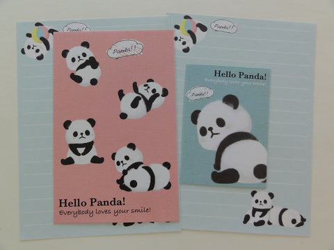 Cute Kawaii Kamio Hello Panda Mini Letter Sets - A