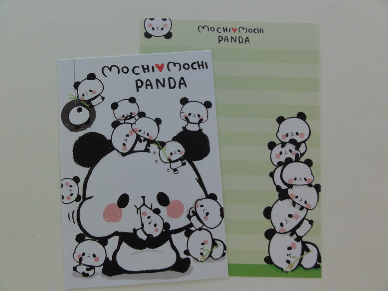 Cute Kawaii Kamio Mochi Mochi Panda Mini Letter Sets