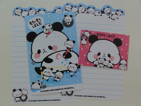 Cute Kawaii Kamio Mochi Mochi Panda Mini Letter Sets - B