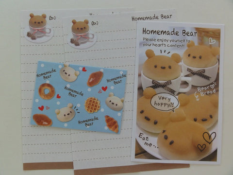 Cute Kawaii Kamio Homemade Bear Mini Letter Sets