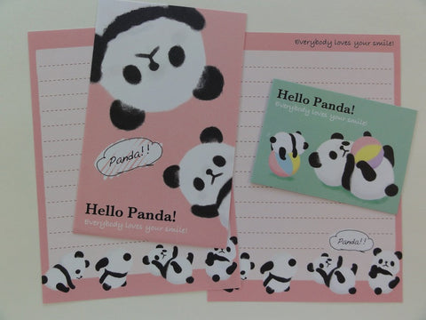 Cute Kawaii Kamio Hello Panda Mini Letter Sets - B