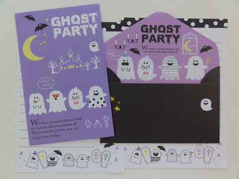 Cute Kawaii Crux Ghost Party Mini Letter Sets