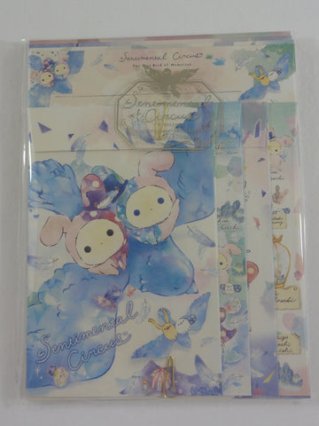 Cute Kawaii San-X Sentimental Circus Letter Set Pack - 2019 Blue Bird - Stationery Writing Paper Envelope
