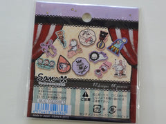Kawaii Cute San-X Sentimental Circus Flake Sticker Sack - B