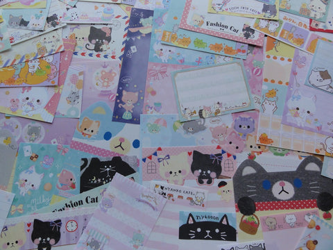 Cute Kawaii Cat Kitten Kitty Paper Memo Set