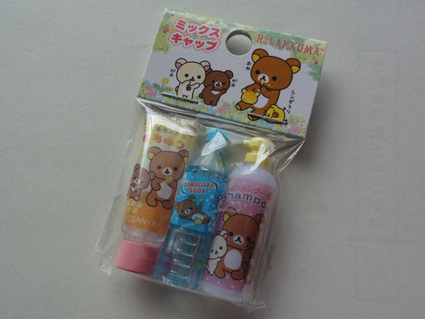 Cute Kawaii San-X Rilakkuma Koguma Pencil Caps - A