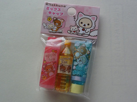 Cute Kawaii San-X Rilakkuma Cat Pencil Caps - D