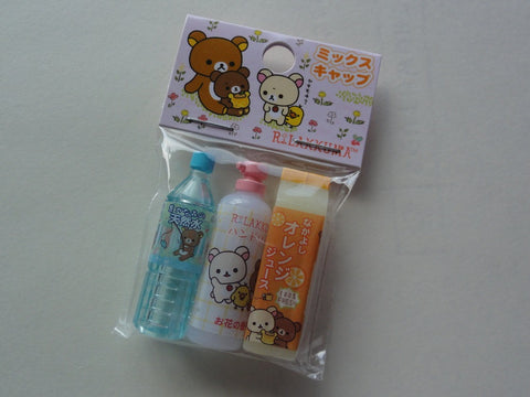 Cute Kawaii San-X Rilakkuma Koguma Pencil Caps - D