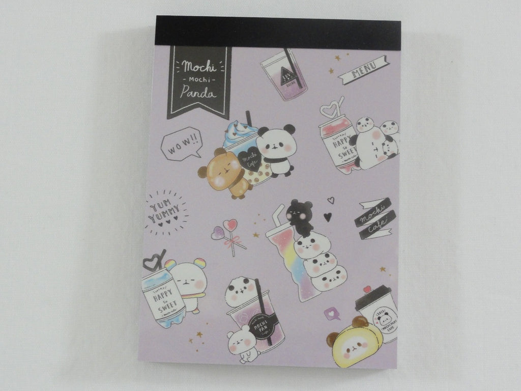 Kawaii Cute Kamio Mochi Panda Mini Notepad / Memo Pad - Q - Stationery Designer Writing Paper Collection