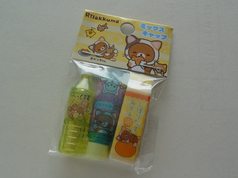 Cute Kawaii San-X Rilakkuma Cat Pencil Caps - B
