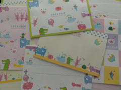 Kawaii Cute Q-Lia Coco Chip Animals Letter Sets
