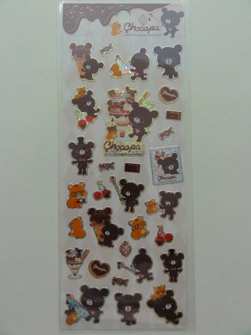 Cute Kawaii San-X Chocopa Sticker Sheet - A