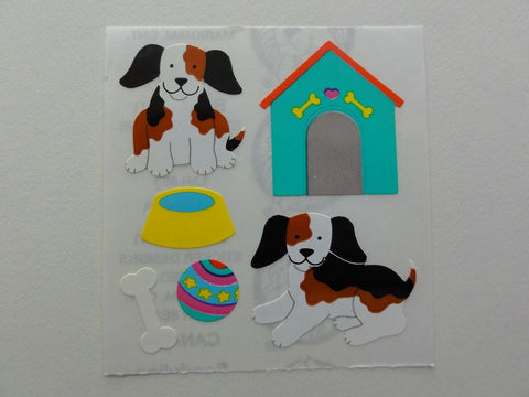 Sandylion Dog Sticker Sheet / Module - Vintage & Collectible