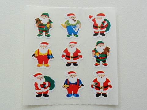 Sandylion Christmas Santa Sticker Sheet / Module - Vintage & Collectible