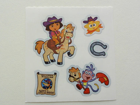 Sandylion Dora Sticker Sheet / Module - Vintage & Collectible