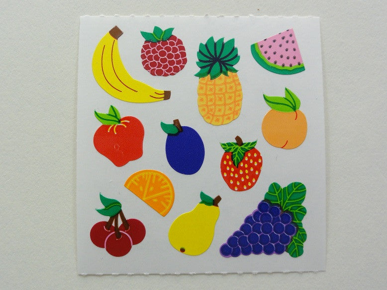 Sandylion Fruits Sticker Sheet / Module - Vintage & Collectible