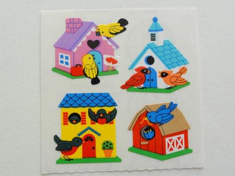 Sandylion Bird House Sticker Sheet / Module - Vintage & Collectible