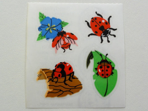 Sandylion Beetle Sticker Sheet / Module - Vintage & Collectible