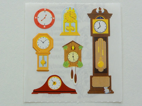 Sandylion Clocks Sticker Sheet / Module - Vintage & Collectible