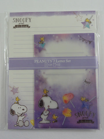 Cute Kawaii Peanuts Snoopy Letter Set Pack - Stationery Writing Paper Penpal