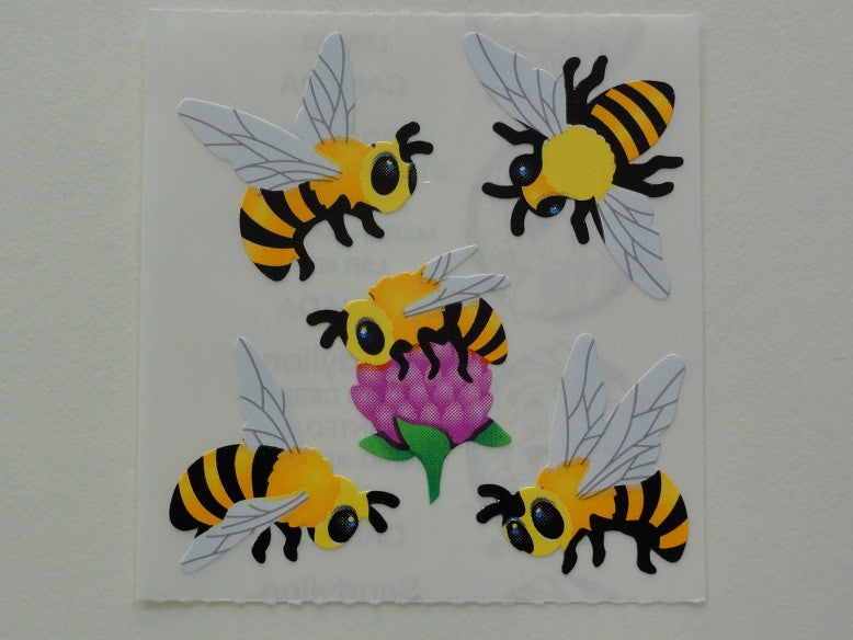 Sandylion Bees Sticker Sheet / Module - Vintage & Collectible