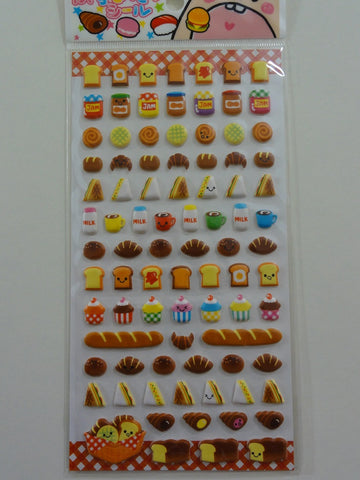 Cute Kawaii Crux Bakery Pastry Sandwich Bread Sticker Sheet