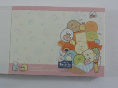 Cute Kawaii San-X Sumikko Gurashi Bread Bakers Mini Notepad / Memo Pad - D - 2019