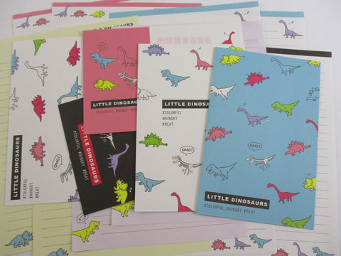 Crux Little Dinosaurs Letter Sets - Stationery Writing Paper Envelope