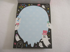 Cute Kawaii Mind Wave Ghost Party Mini Notepad / Memo Pad - Stationery Design Writing Collection