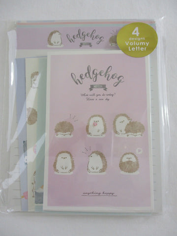 Cute Kawaii Q-Lia Hedgehog Letter Set Pack - writing paper envelope stationary