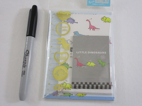 Cute Kawaii Crux Little Dinosaurs Dino MINI Letter Set Pack - Stationery Writing Note Paper Envelope