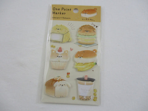 Cute Kawaii Kamio Bakery Bread Cafe Sticky Notes Flags - for Journal Planner Organizer Book Craft