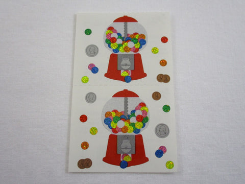 Mrs Grossman Gumball Machine Sticker Sheet / Module - Vintage & Collectible 2003